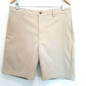 Greg NormanTan Shorts Size 34
